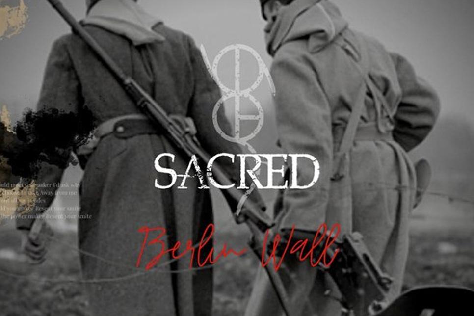 Sacred New Single Berlin Wall